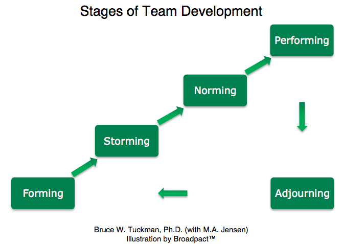 five stages team development model essay 5 stages of group development, norms (tuckman) 1 february, 9th, 2013-02-07aded 4f32presenters: melissa kongvongxayrosie chattillon tuckman's five.