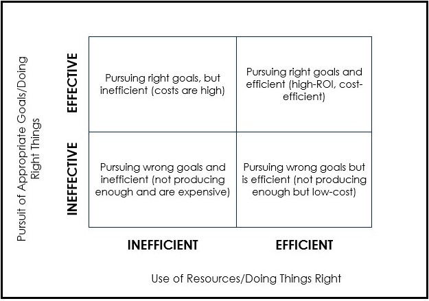 Effectiveness And Efficiency For Business Growth